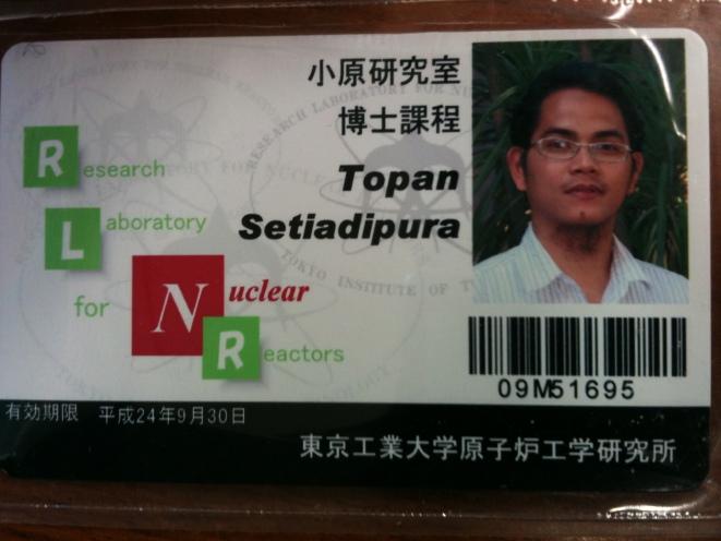 Lab. ID card